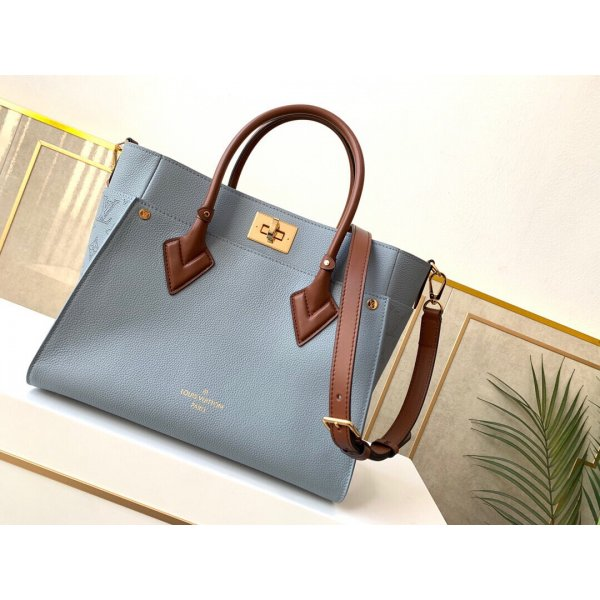 Louis Vuitton Replica M56078 On My Side High End Leathers in Blue