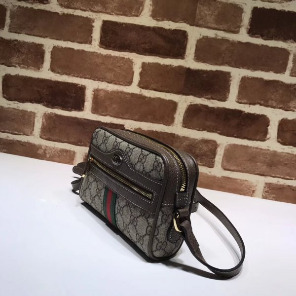 Knockoff Gucci Suede Ophidia Mini 517350 Bag
