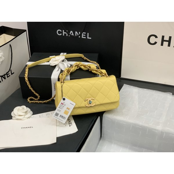 Top Quality AAA+ Yellow Flap CC AS2388 Replica Bags China