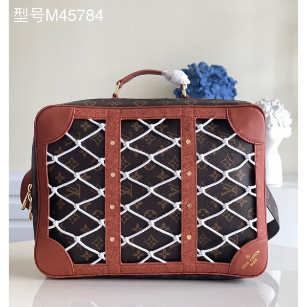 Unsurpassed Quality Louis Vuitton Replica LVxNBA Shoes Box Backpack Monogram Other M45784 Brown